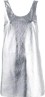 PRADA Luxury Fashion Womens 53397AW4F0118 Silver Dress   Spring Summer 20