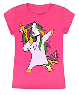 PERSONALISED Horse Polo T Shirt Top 4 5 6 7 8 9 10 11 12 13 14 Pink Girls Boys