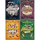 Cogheart Adventures Series (Vol 1-4) 4 Books Collection Set by Peter Bunzl