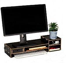 Wood Monitor Stand Riser with Adjustable Storage Organizer Laptop Stand Desk Organizer..