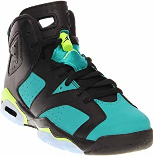Nike Air Jordan 6 Retro GG Black Turbo Green (543390-043)