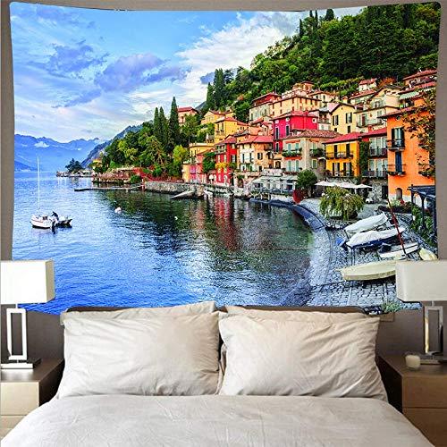 KHKJ Arte Tapiz de Pared Tapiz Paisaje Paisaje Grifo Fondo Tela Tela Colgante decoración del hogar A3 200x150 cm