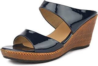 SOLES Women Espadrille Black Special Wedges