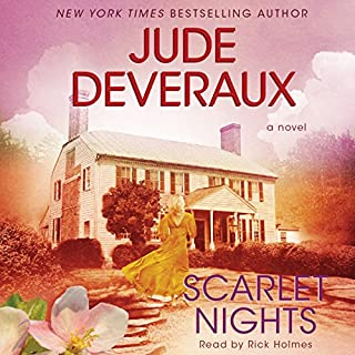 Scarlet Nights     Edilean Series, Book 3              By:                                                                                                                                 Jude Deveraux                               Narrated by:                                                                                                                                 Rick Holmes                      Length: 5 hrs and 30 mins     50 ratings     Overall 3.9