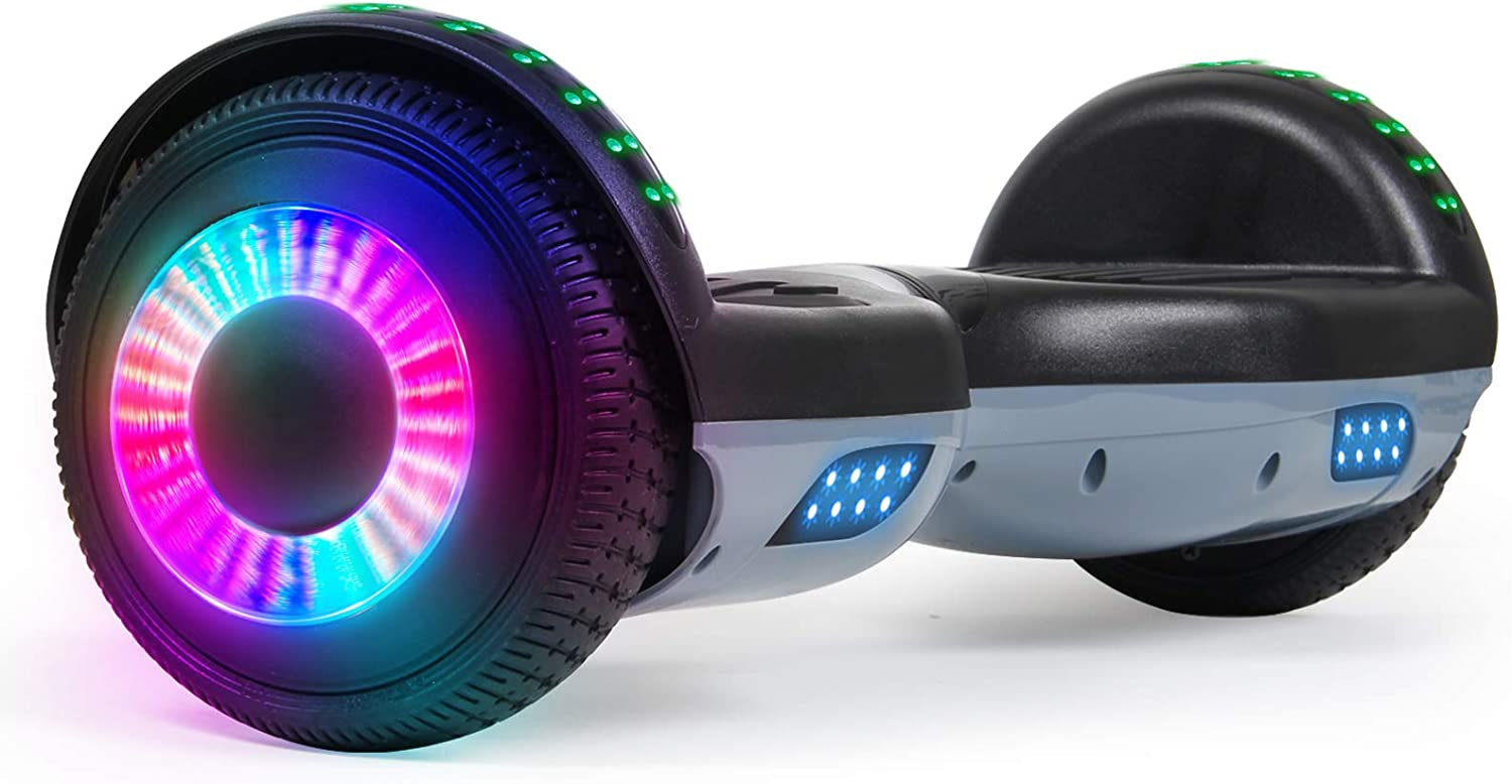 """SISIGAD Hoverboard 6.5"""" Kansas City Mall Self Balancing Kids for Age Scooter Super-cheap 6-12"""