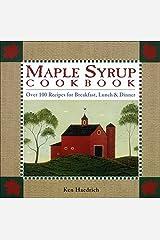 Maple Syrup Cookbook Paperback