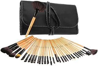 Brochas de Maquillaje, Abody 32 pcs Set de Pinceles de Maquillaje Profesional con Bolsa de Viaje para Base de Maquillaje, Sombra de Ojos, Colorete, Polvo, Las Cejas