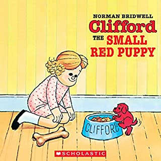 Clifford the Small Red Puppy audiobook cover art