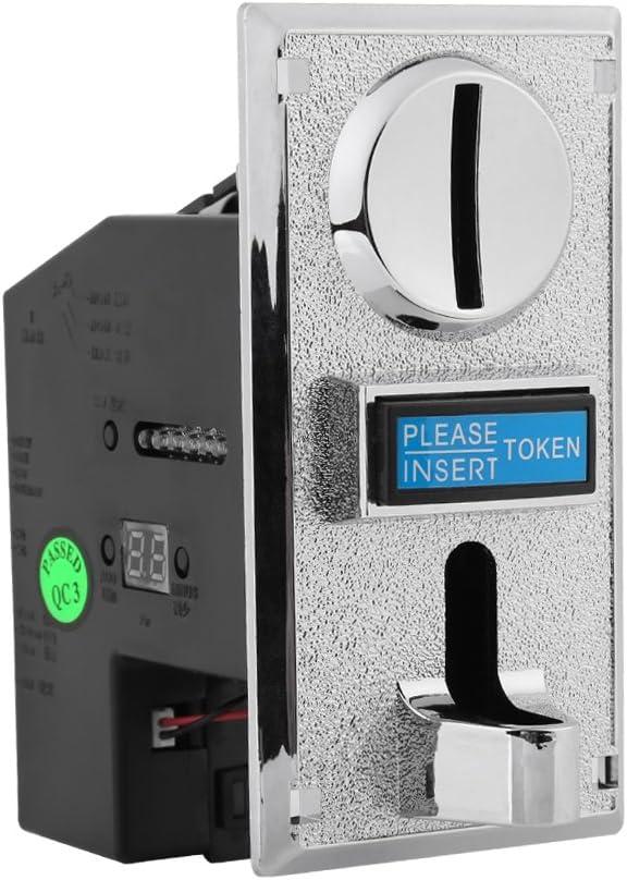 22 opinioni per Coin Acceptor, Akozon Accettatore di Monete 6 Tipi per Distributore Automatico