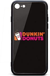 iPhone 6/6s Case Dunkin-Donuts-Coffee-Logo- Ultra Slim Case Air Cushion Technology and Clear Hybrid Drop Protection Soft Silicone Rubber Cover Phone Case for iPhone 6/6s Case [4.7
