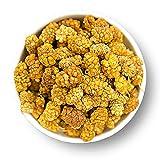 """Unbehandelte weiße Maulbeeren - Extra Qualität - Unbehandelte Qualität - !!!! Das sind die aller besten!!!! Trockenfrüchte, ohne Pestizide , unbehandelt , naturbelassen , ungeschwefelt, ungezuckert, - """"PREMIUM QUALITÄT"""" - zum Müsli - 1001 Frucht - EXCLUSIVE - Nüsse - Trockenfrüchte – Gewürze - 1000 GR"""