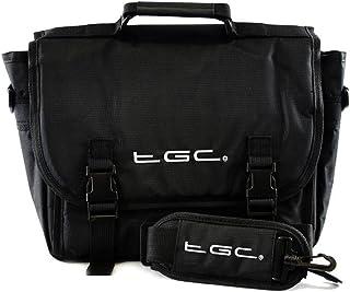 TGC ® Messenger Style Draagtas Compatibel met Tomtom Go Professional 620 Sat Nav GPS Systeem