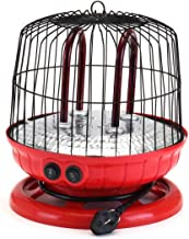 360 Grados Portátil Estufa Calentador Eléctrico De Ventilador del Radiador del Calentador del Calentador del Ventilador para Pájaro del Invierno Jaula De Seguridad Inicio