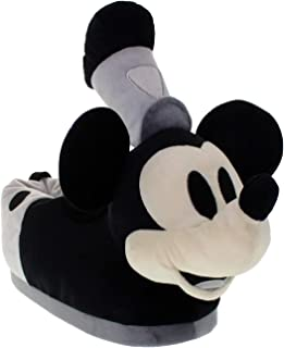 Image of Classic Steamboat Willie Mickey Mouse Slippers for Boys