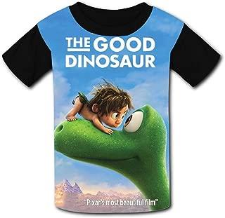 QIANBAIHUI Kids Youth The Good Dinosaur 3D Printed Short Sleeve T-Shirt Tees