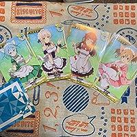 ソードアートオンラインアーケード 文化祭メイドコスサポートログ 4種セット