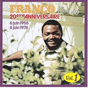 20 ème Anniversaire de l'OK Jazz, Vol. 1