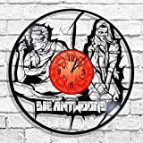BombStudio Die Antwoord Vinyl Record Wall Clock, Die Antwoord Handmade for Kitchen, Office, Bedroom. Die Antwoord Ideal Wall Poster