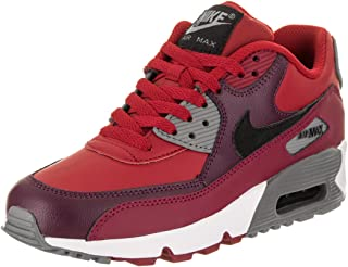 Nike Youths Air Max 90 Leather Leather Trainers