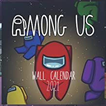 AMONG US WALL CALENDAR 2021: AMONG US WALL CALENDAR 2021 8.5x8.5 FINISH GLOSSY