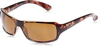 RB4075 Rectangular Sunglasses, Havana/Polarized Brown, 61 mm