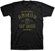 Kerusso Men's Armor of God T-Shirt - Black -