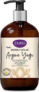 Duru Değerli Yağlar Nemlendiricili Argan Yağı Sıvı Sabun, 500 ml