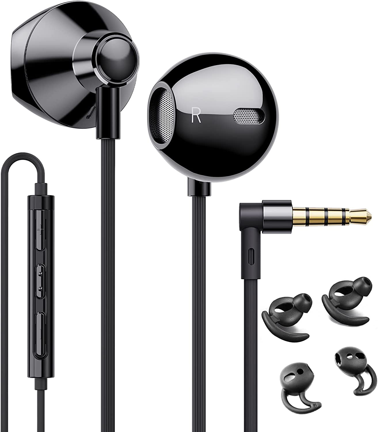Linklike Wired Earbuds with Latest sale item Microphone Audio D Hi-Res Earphones