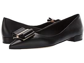 a89e985d5f3b Salvatore Ferragamo Varina Ballet Flat w  Bow at Luxury.Zappos.com
