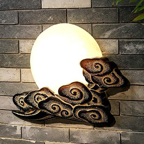 Wandlamp Moderne Chinese kunst antieke goedkope wand-lamp-wolken-hotel-restaurant-lamp klassieke kunst decoratieve wandlampen