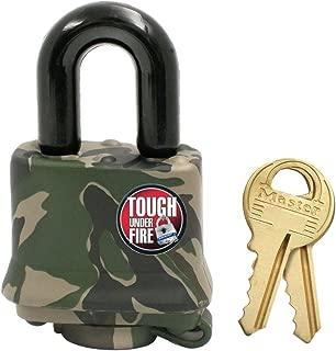 Master Lock 7620EURD Lucchetto Alluminio 20mm Combinazione programmabile a 3 cifre