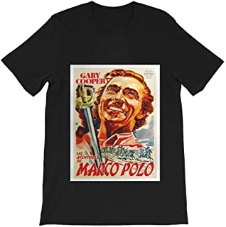 Adventures Marco Polo 1938 Gary Cooper Graphic Gift Men's Women's Girls Unisex T-Shirt Sweatshirt Hoodie