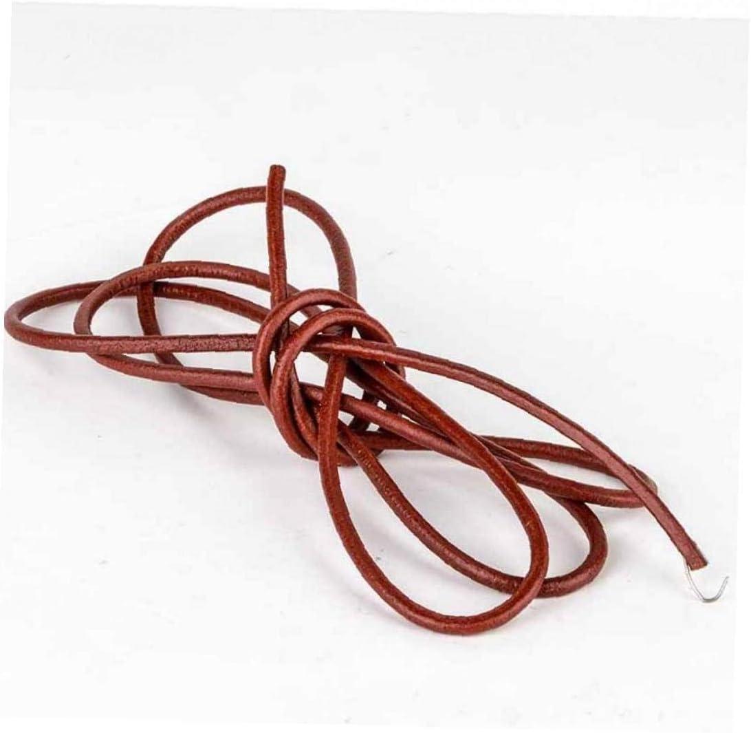 Correa De Cuero De Fuentes De Costura 183cm Cinturón De Cuero De Costura para Todos Vintage Máquina De Coser De Pedal Venta Ambulante Accesorios De Costura 5mm