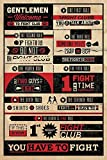 Fight Club Poster Rules (61cm x 91,5cm) +