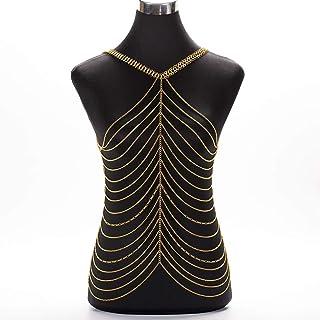 3444250abd4ba5 Amazon.fr : zhangshuaijiaju - Chaînes de taille / Bijoux de corps ...