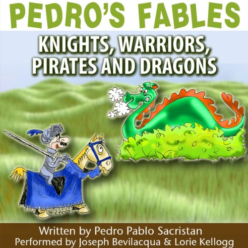 Pedro's Fables audiobook cover art