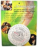 Music Transpose Tool for Notes, Chords and Key Signature