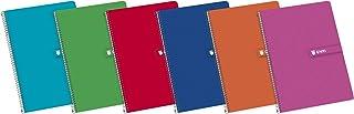 Enri 100430081, Cuaderno con cubiertas duras, 80 hojas,
