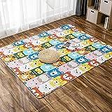 LCFF Alfombra habitacion alfombras Salon Moqueta Rectangular Adecuado para la decoración de Salas de Estar y Dormitorios para Salon,Dormitorio,Cocina,Pasillo,Habitacion,Exterior