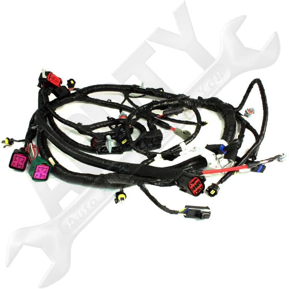 Amazon.com: OE Ford 5C3Z12B637BA 6.0L Diesel Engine Wire Wiring Harness  Pigtail Connector: Automotive | Ford F 350 Super Duty Wiring Harness |  | Amazon.com