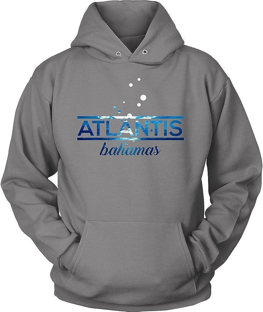 Bahamas Atlantis, Beach, Sea and Sun Underwater Hoodie
