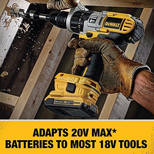DEWALT 18V to 20V Battery Adapter Kit (DCA2203C)