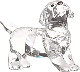 SWAROVSKI Labrador Puppy, Standing Crystal Figurine, Clear