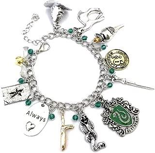 Best slytherin charm bracelet Reviews
