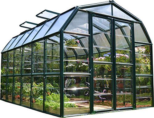 Rion Grand Gardener 2 Clear Greenhouse, 8' x 12'