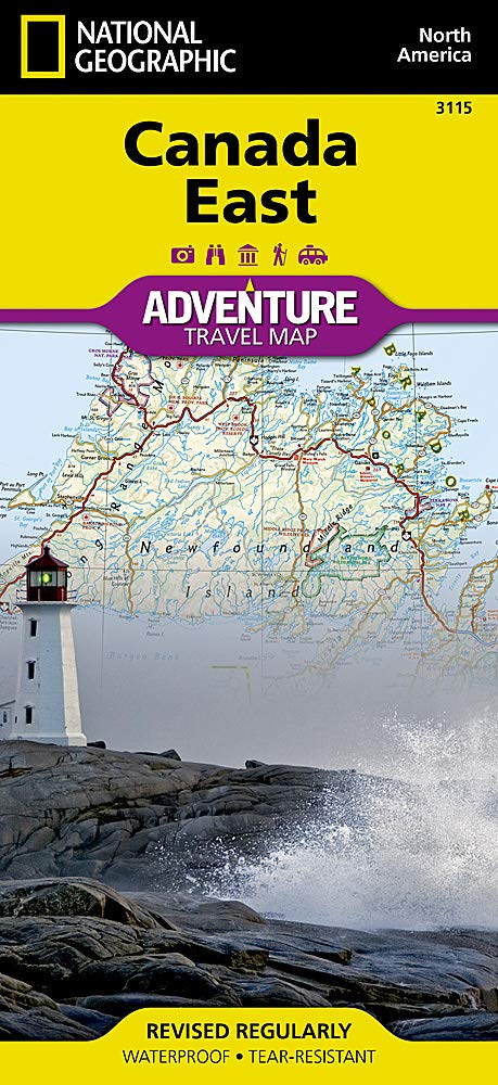 Image OfCanada East (National Geographic Adventure Map, 3115)