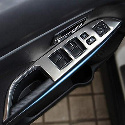Kadore - Protector de bisel para puerta de coche, para Mitsubishi ASX Outlander Sport 2013