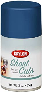 Krylon SCS-034 Short Cuts Spray Paint Hi Gloss, Ocean Blue