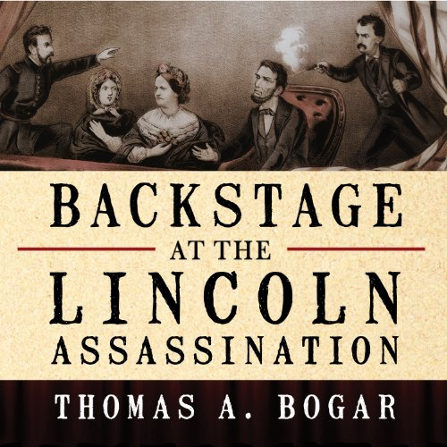 Backstage at the Lincoln Assassination audiobook cover art