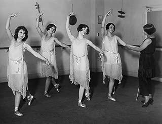 Albertina Rasch (1896-1967) Namerican (Austrian-Born) Dancer Choreographer And Teacher Rasch Instructing A Dance Class In The 1920S Poster Print by (24 x 36)